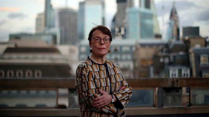 Catherine McGuinness, Chair of the Policy and Resources Committee of the City of London Corporation says more jobs could be lost from the British capital because of Brexit [File: Hannah McKay/Reuters]