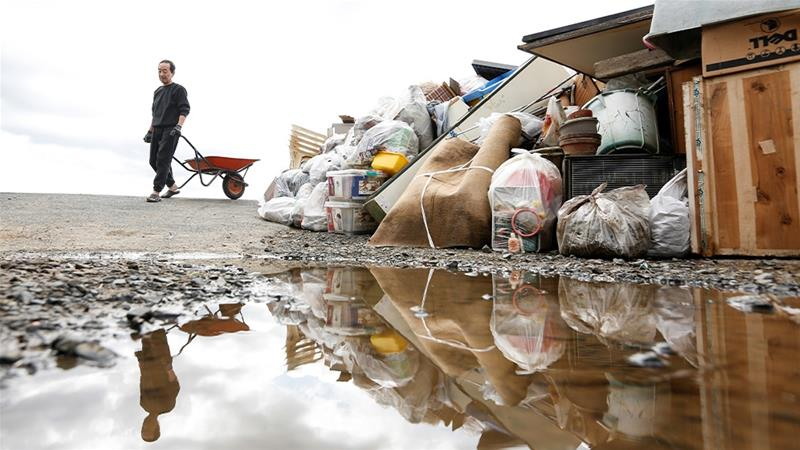 Japan cleans up after deadly typhoon Hagibis