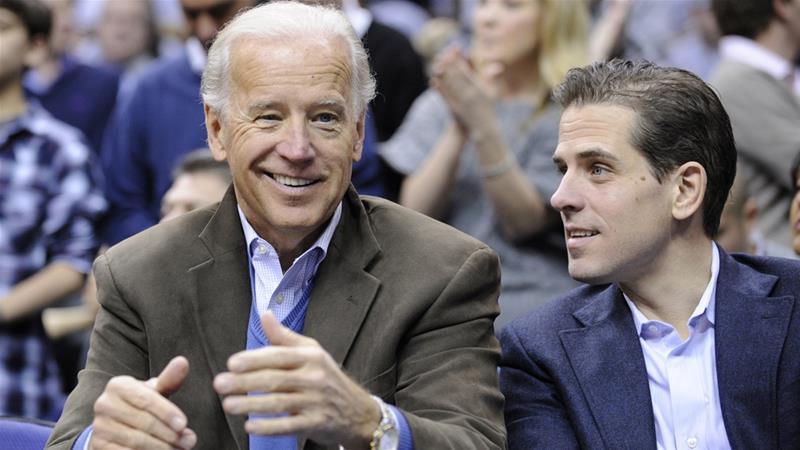 Biden Insists He, Son Hunter Did Nothing Wrong in Ukraine