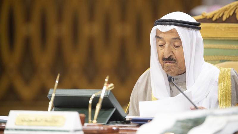 Kuwait's Emir Sheikh Sabah al-Ahmad al-Sabah has ruled the US ally and OPEC oil producer since 2006 [File: Raed Quietena/EPA]