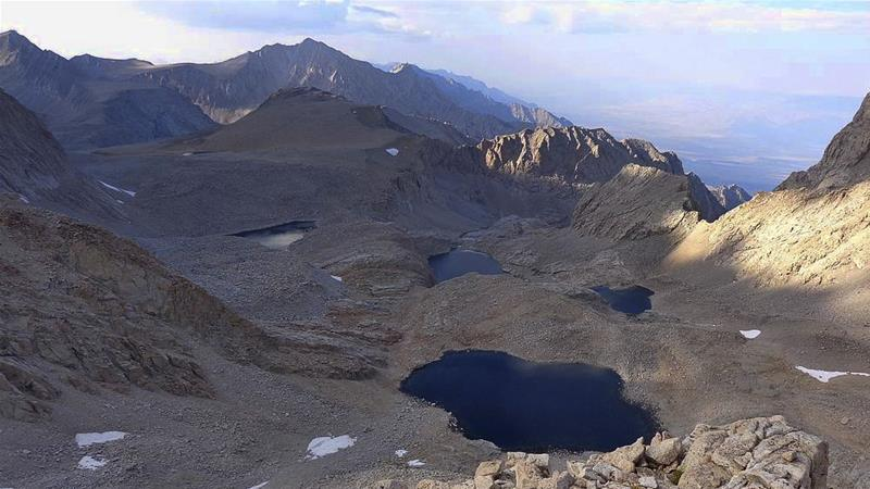 The area below Mount Williamson where a skeleton was found [Inyo Sheriff's Department/AP Photo]