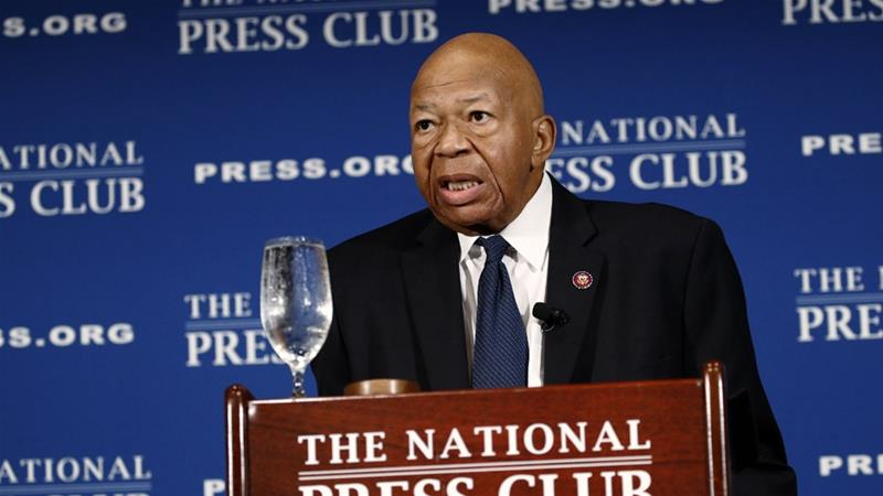 Cummings died early on Thursday after complications from longstanding health challenges [Patrick Semansky/AP]
