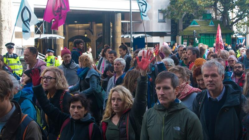 Extinction Rebellion delivers demands on last day of action