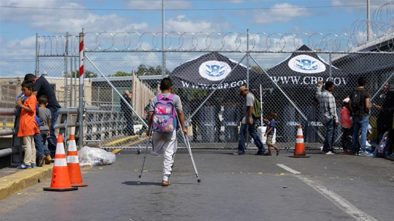 Most of the deportees were scattered in eight states around Mexico and hoped to transit to the US border [File: Veronica G Cardenas/Reuters]