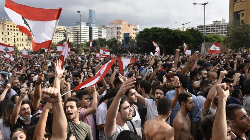 Lebanon faces 3rd night of unrest over economic crisis