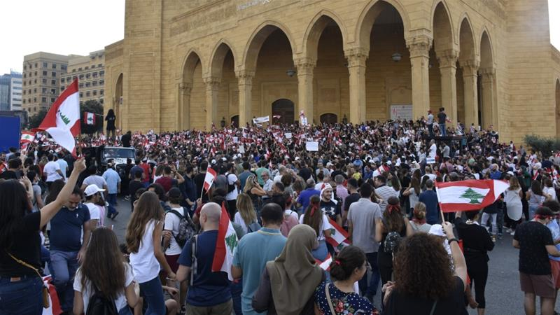What protesters in Lebanon want