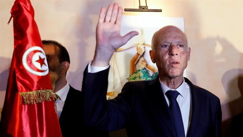 Kais Saied Who Is Tunisia S New President News Al Jazeera