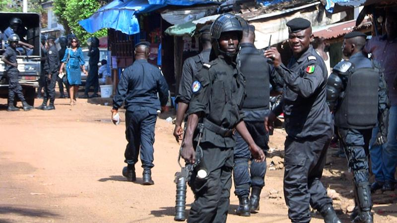 Bildergebnis für Guinea court jails opposition leaders for organising protests