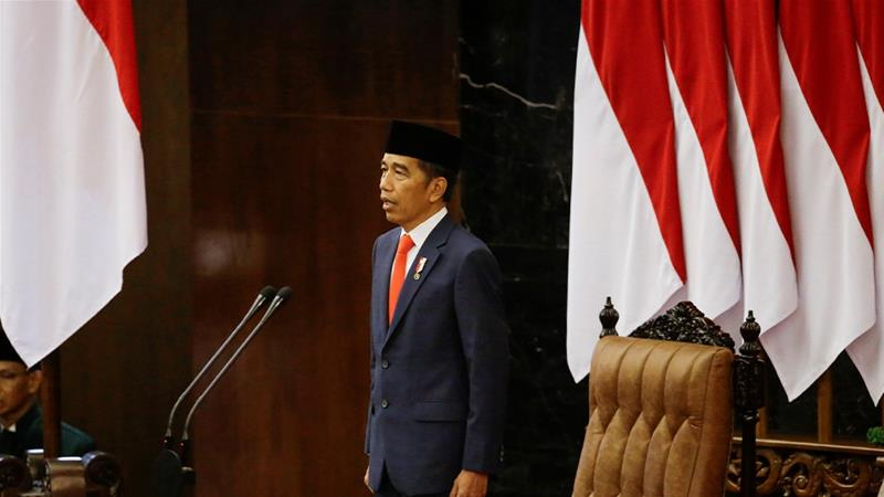 Indonesian President Joko Widodo, who was recently sworn in for his second term, has made increasing palm oil exports one of his administration's top trade priorities [File: Achmad Ibrahim/Reuters]