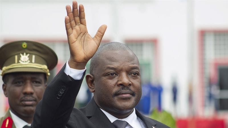 President Pierre Nkurunziza's government has cracked down on media ahead of the election in May [Evrard Ngendakumana/Reuters]