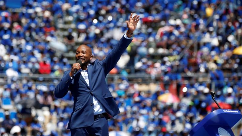 South Africa's Mmusi Maimane quits as Democratic Alliance leader