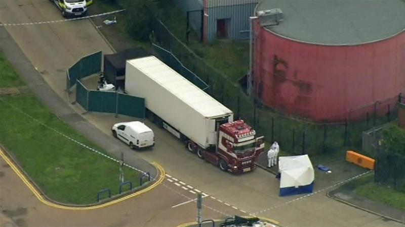 39 people found dead in Essex lorry were all Chinese: UK police
