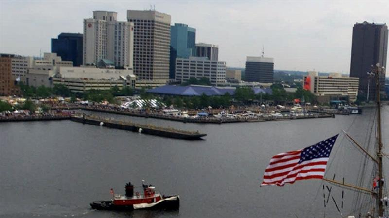 Downtown Norfolk, Virginia [File: Steve Helber/AP Photo]