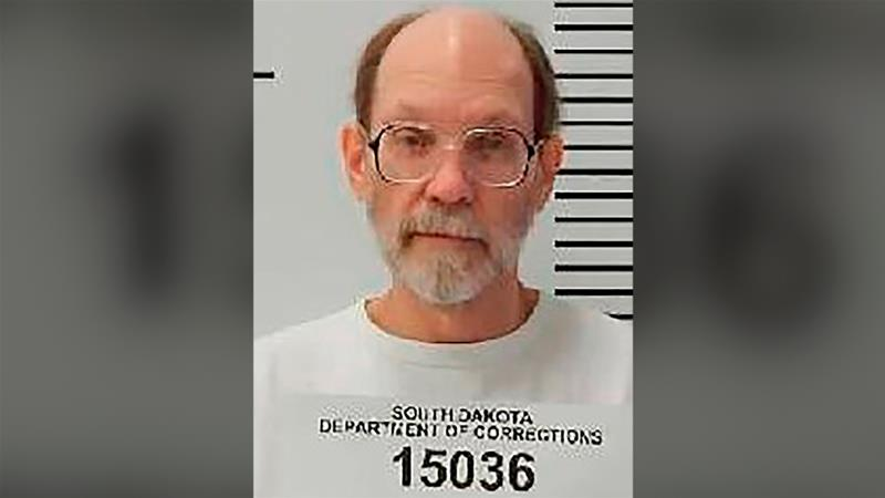 Charles Rhines is asking the state to allow him to pick the drug for his execution [File: South Dakota Department of Corrections via AP/The Associated Press]