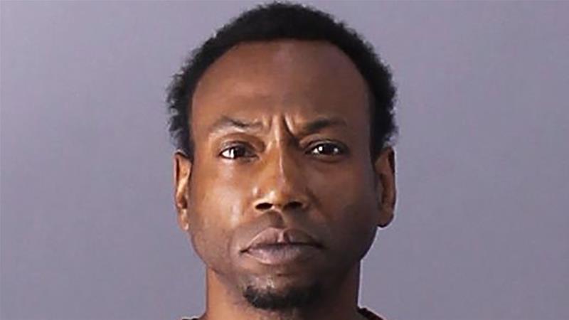 An undated file photo shows suspect Patrick Devone Stallworth [Birmingham Police Department via AP]