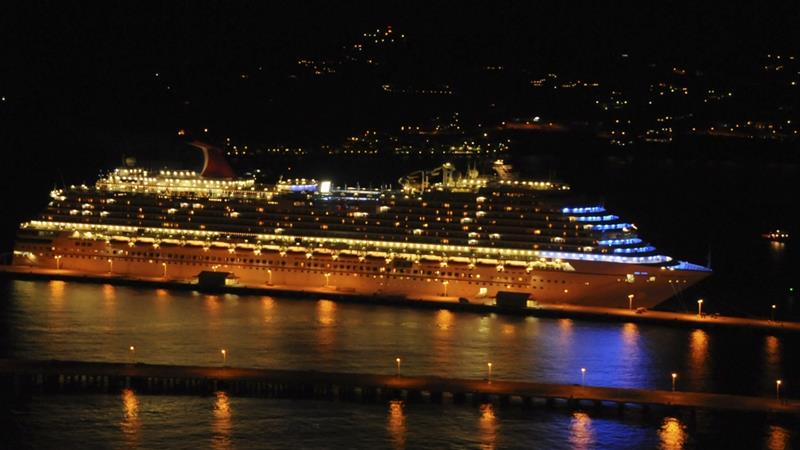 The ship, Carnival Dream, started a four-day cruise from Galveston on Thursday [File: Reuters]