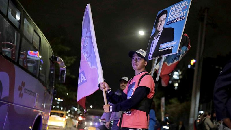 Colombians vote in first local elections since 2016 peace deal