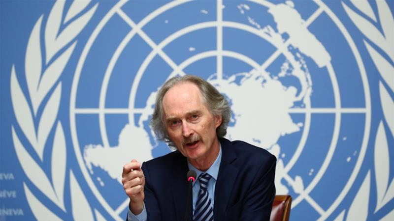 UN Syria envoy to meet Turkey, Iran and Russia foreign ministers