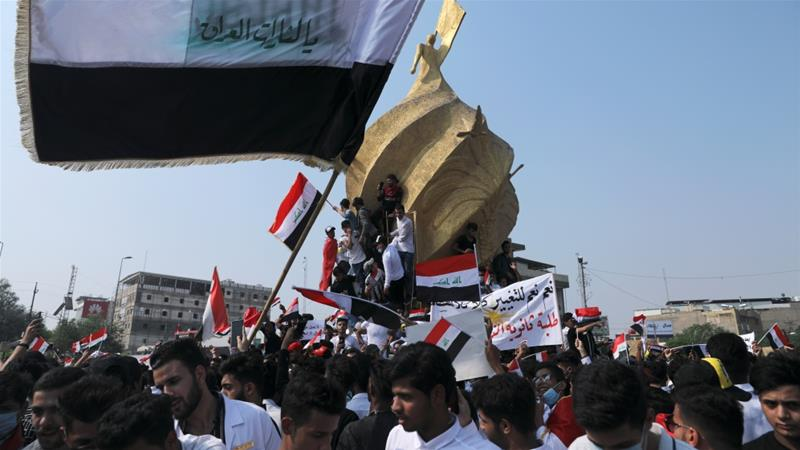 Iraq declares curfew amid ongoing mass anti-government protests