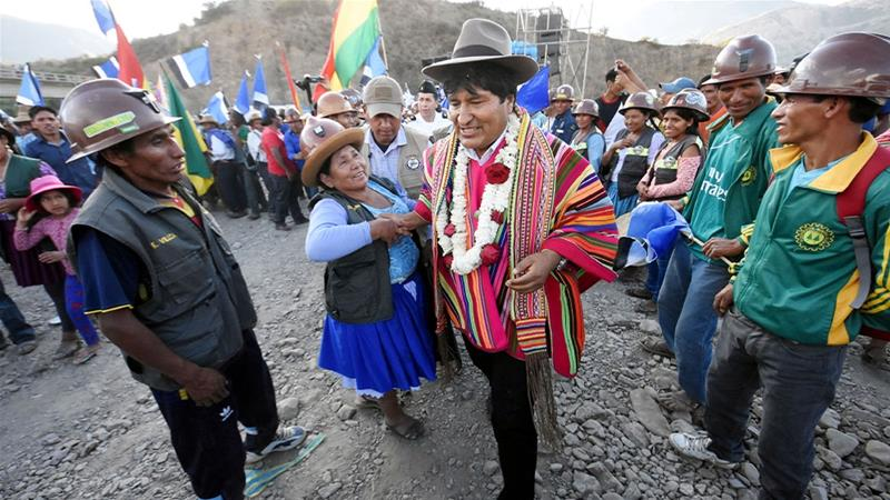 Bolivia, OAS close to deal on election audit as protests continue