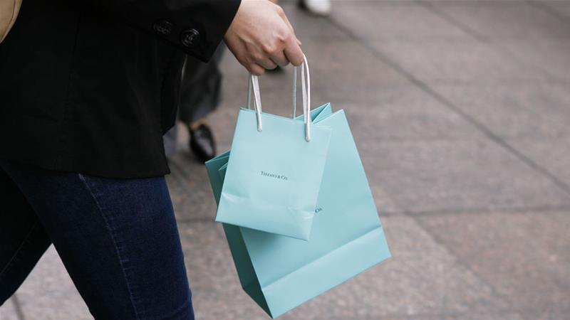 The group has offered $120 a share, or about $14.4bn for Tiffany, The Wall Street Journal reported [File: Lucas Jackson/Reuters]