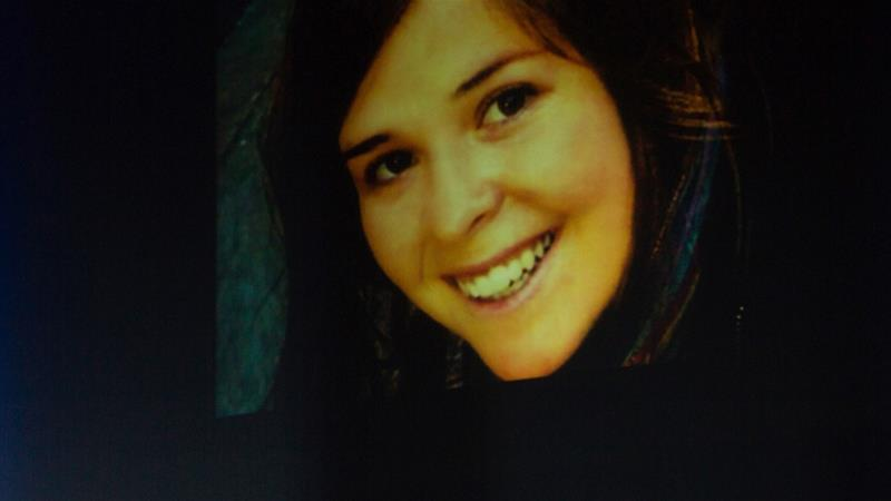 Kayla Mueller was abducted by ISIL after she crossed the Turkish border into Syria in August 2013 [File: Deanna Dent/Reuters]