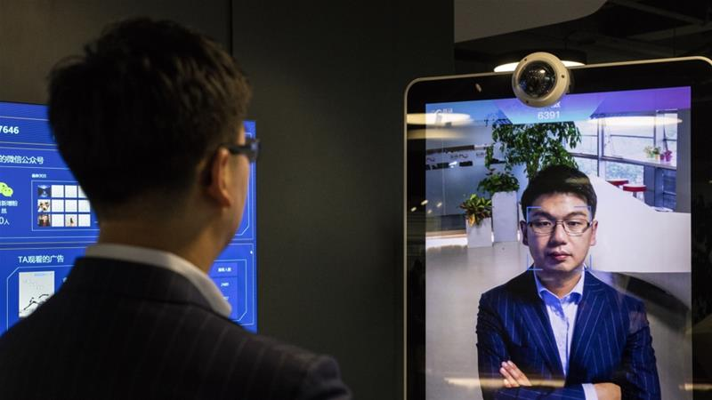 Xu Li, chief executive officer and co-founder of Sensetime said the Chinese surveillance technology firm is 'prepared for the long game', having raised about $2.5bn from investors last year [File: Gilles Sabri/Bloomberg]
