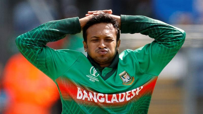 Bangladesh's cricket star Shakib banned over corruption
