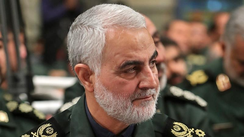 In March, Qassem Soleimani received Iran's highest military award, the 'Order of Zulfaqar' [File: Reuters]