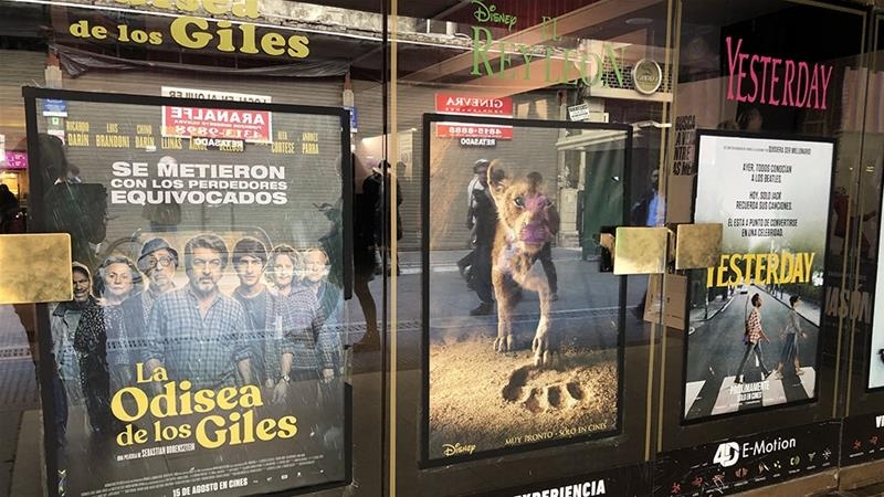 La Odisea de los Giles (Heroic Losers), a film set during Argentina's economic crisis of 2001, has proven so popular that it dethroned Disney's The Lion King at the box office [File: Courtesy of Monica Yanakiew/Al Jazeera]