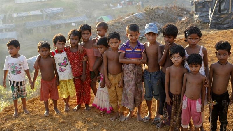According to UNICEF about 461,000 of the 910,000 refugees in Cox's Bazar are children [File: Abir Abdullah/EPA]