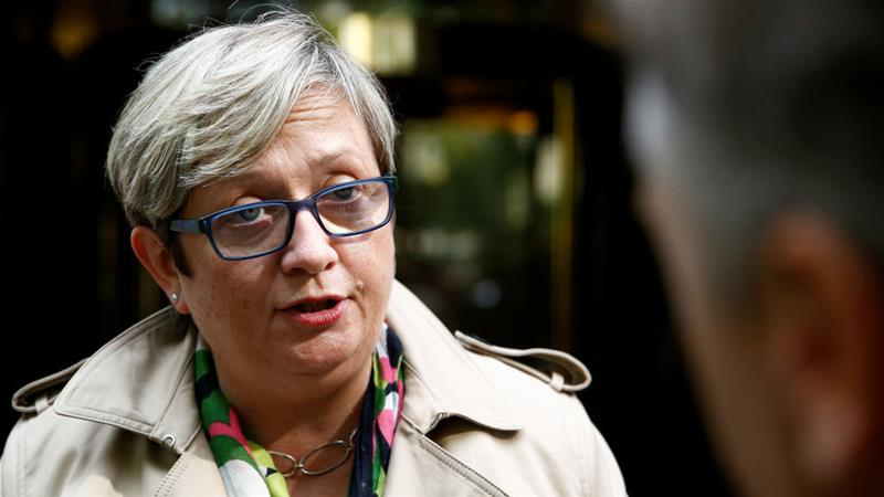 Joanna Cherry QC, a senior lawyer as well as an MP, led the legal campaign against the suspension of Parliament, and is now spearheading the 'nob-off' action in Scotland [Henry Nicholls/Reuters]