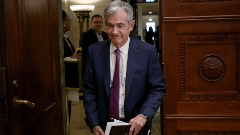 United States Federal Reserve Board Chairman Jerome Powell has tried to strike a delicate balance for the economy during an uncertain time [Win McNamee/Getty Images/AFP]