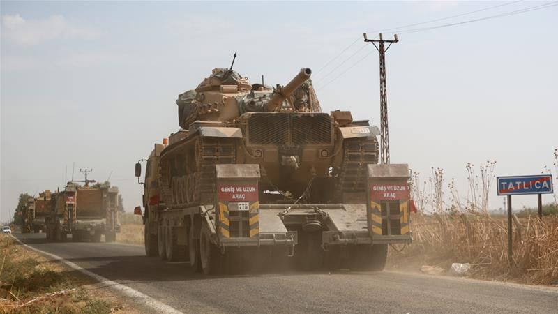 Turkey began its third offensive in northern Syria in the last three years on October 9 to create what it called a 'safe zone' there [EPA]