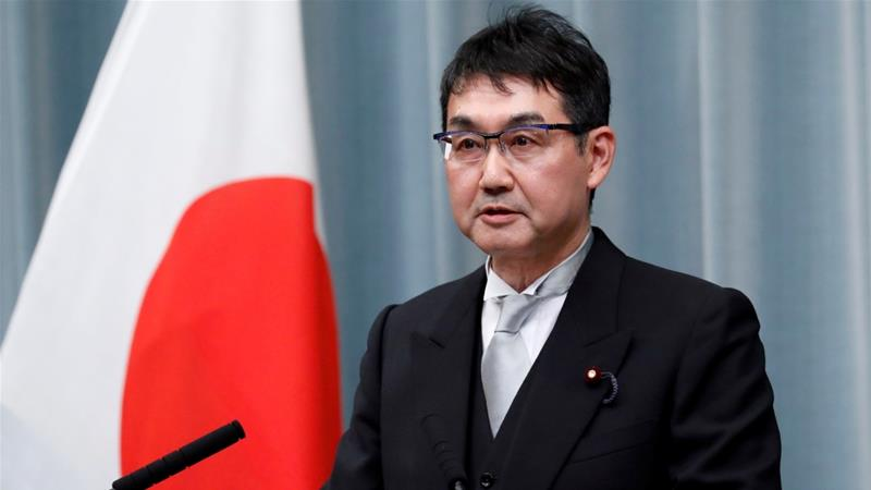 Kawai, a member of parliament from Hiroshima, has denied any wrongdoing [Issei Kato/Reuters]