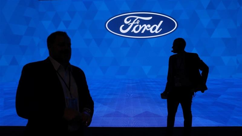 Ford has historically had a better relationship, compared with its rivals, with the United Auto Workers union, with which it has made a tentative agreement on issues including pay raises, the use of temporary workers and healthcare insurance [File: Jonathan Ernst/Reuters]
