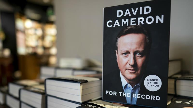 Cameron's 'For The Record' unlikely to set many
