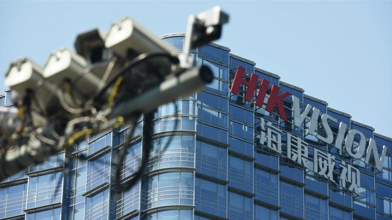 Chinese video surveillance firm Hikvision provides technology for sophisticated footage of Muslim minority groups [File: Stringer/Reuters]
