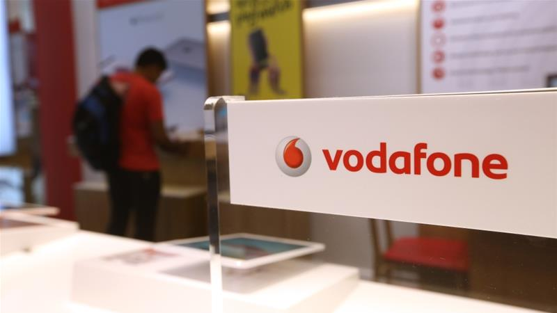 Vodafone says its investment in space-based technology will enhance the company's network across Europe and Africa, especially in rural areas and during disasters [File: Chris Ratcliffe/Bloomberg]