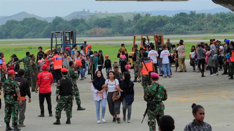 More than 16,000 flee unrest in Indonesia's Papua region