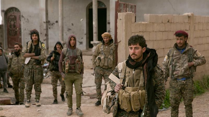 The SDF was Washington's main ally in Syria in the fight against ISIL [File: Maya Alleruzzo/AP Photo]
