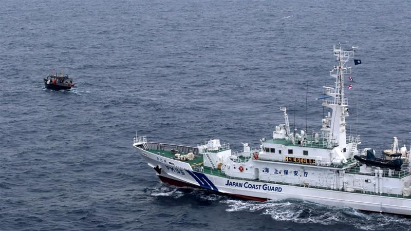 North Korean Fishermen Overboard After Collision With Japan Ship, NHK says