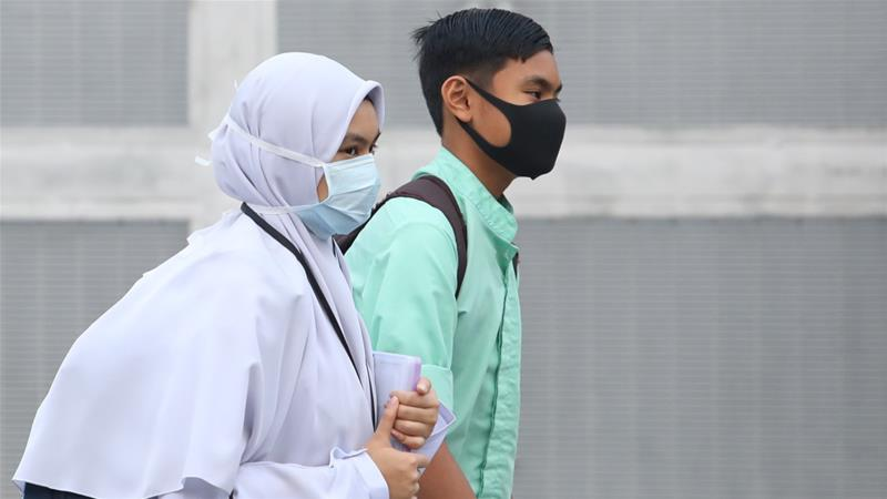 The haze, as it is commonly known, has been blanketing the region on an almost annual basis since 1997 [Anadolu]