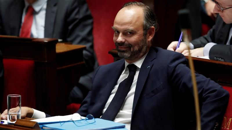 Philippe also challenged the state-funded healthcare programme, Aide Medicale d'Etat, for undocumented workers [Benoit Tessier/Reuters]