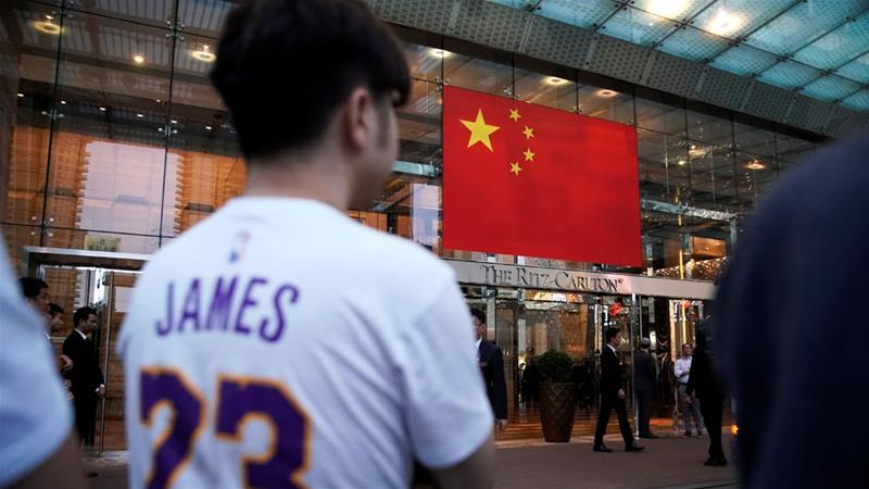 Chinese basketball fans have expressed confusion and dismay over the debacle [Aly Song/Reuters]
