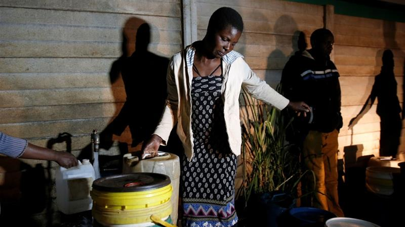 Residents in the capital Harare, have been grappling with 18-hour blackouts [File: Philimon Bulawayo/Reuters]