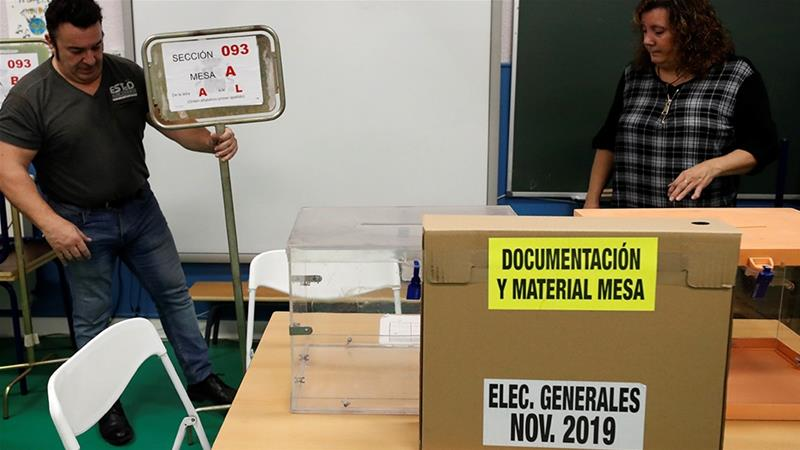 Spain votes as Catalonia tensions mount