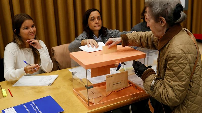 Ruling Socialists lead as Spain votes to break deadlock
