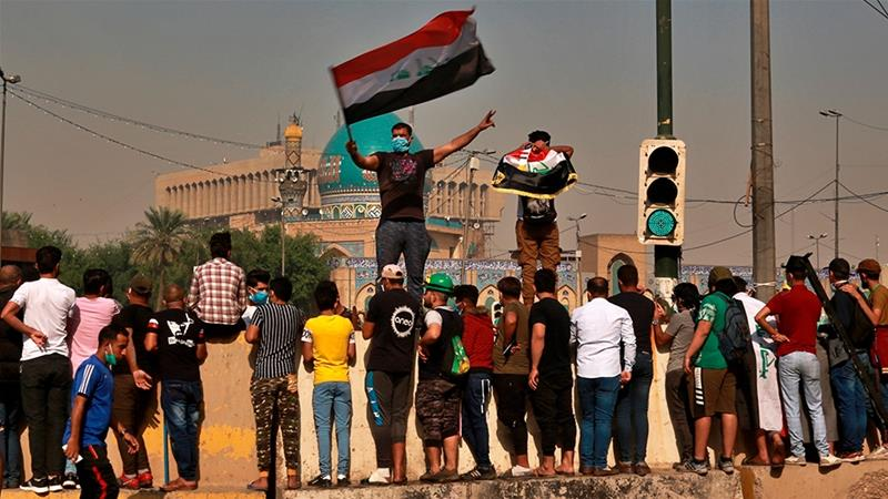 Iraq Protesters Insist On System