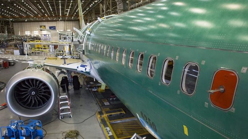 Boeing's 737 Max won't be cleared to resume commercial flights until regulators sign off on updated training material for pilots - a step the company expects in January [File: Bloomberg]